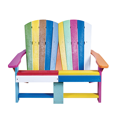 cr plastic products friendship bench