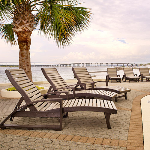 cr plastic products benches and loungers