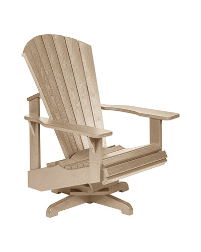 Merveilleux Cr Plastic Products. C02 SWIVEL ADIRONDACK