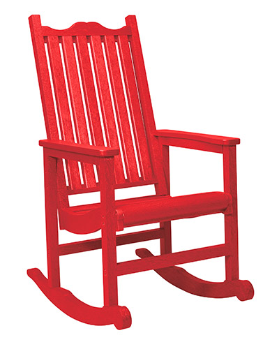 Red Rocking Chair Clipart ~ Cr plastic products c porch rocker