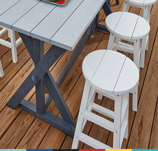 Recycled Plastic Furniture, Composite Outdoor Furniture