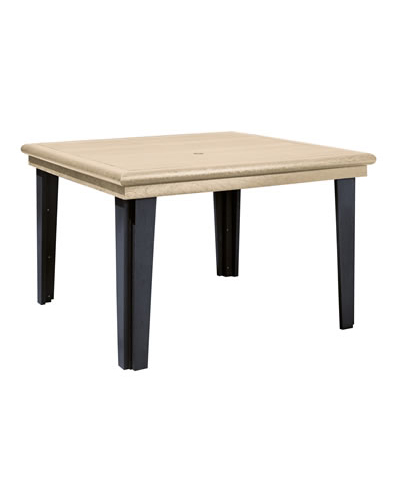 cr plastic products t10 47 square dining table
